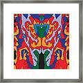 His Fire Framed Print
