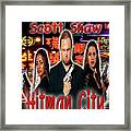 Hitman City Framed Print