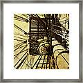 Hms Bounty - Up The Mast - 2 Framed Print
