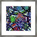 Holiday Abstract  Framed Print