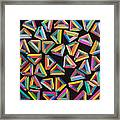 Holomorphic Interaction Framed Print