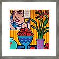 Homage To Lichtenstein And Wesselmann Framed Print