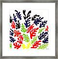Homage To Matisse Framed Print by Teddy Campagna