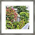 Hopetown Gardens Framed Print