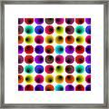 Hypnotized Optical Illusion Framed Print