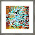 I Am Wind Framed Print