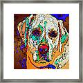 I Love You. Pet Series Framed Print