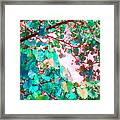 I Wonder What Leaves Think Framed Print