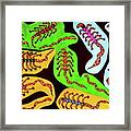 Icons Of The Serpent Age Rulers Framed Print