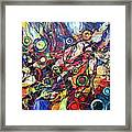In The Circle Of Time Framed Print
