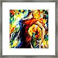 In The Style Of Flamenco Framed Print