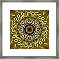 Incendia Kaleidoscope Framed Print