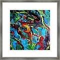 Indian Woman And Her Heavy Burdens Framed Print