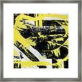 Industrial Abstract Painting I Framed Print