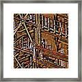 Industrial Storage And Distribution System Framed Print