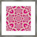Infinite Lily In Pink Framed Print