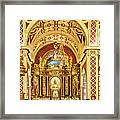 Inside The Basilica Framed Print