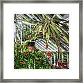 Inside The Greenhouse Framed Print