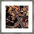 Instrumental Abstract Framed Print