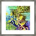 Intertwining Framed Print