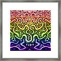 Interwoven Twisted Vines Of Life Framed Print