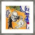 Iraq Quagmyers Detail Framed Print by Robert  Myers