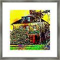 Island Cottage Framed Print