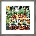 Jaguar On The Hunt Framed Print