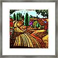 James Lesesne Wells' Farmlands Framed Print