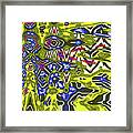 Janca Abstract # 6731eac1 Framed Print