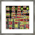 Jancart #0010-8 Abstract Framed Print