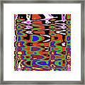 Jancart Drawing Abstract #8455pcws Framed Print