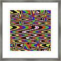 Jancart Drawing Abstract #8455ws Framed Print