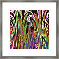 Jancart Drawing Abstract #8455wtpc Framed Print
