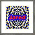 Jared Framed Print