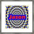 Jason Framed Print