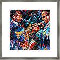 Jazz Brothers Framed Print