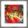 Jazz City Framed Print