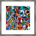 Jazz Magic Framed Print