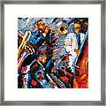 Jazz Unit Framed Print