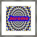 Jerome Framed Print