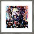 Jerry Garcia Art - The Grateful Dead Framed Print