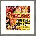 Jesse James 1939 Framed Print