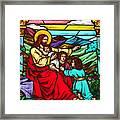 Jesus And Children Framed Print