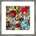 Jeweled Garden Framed Print