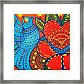 Jinga Bird - Jinga Bird Series Framed Print