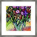 Joels Roses 1 Framed Print