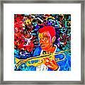 Joshua Bluegreen-cripps Framed Print