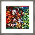 ..journey From Red To Green.. Framed Print