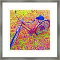 Joy, The Bike Ride Framed Print